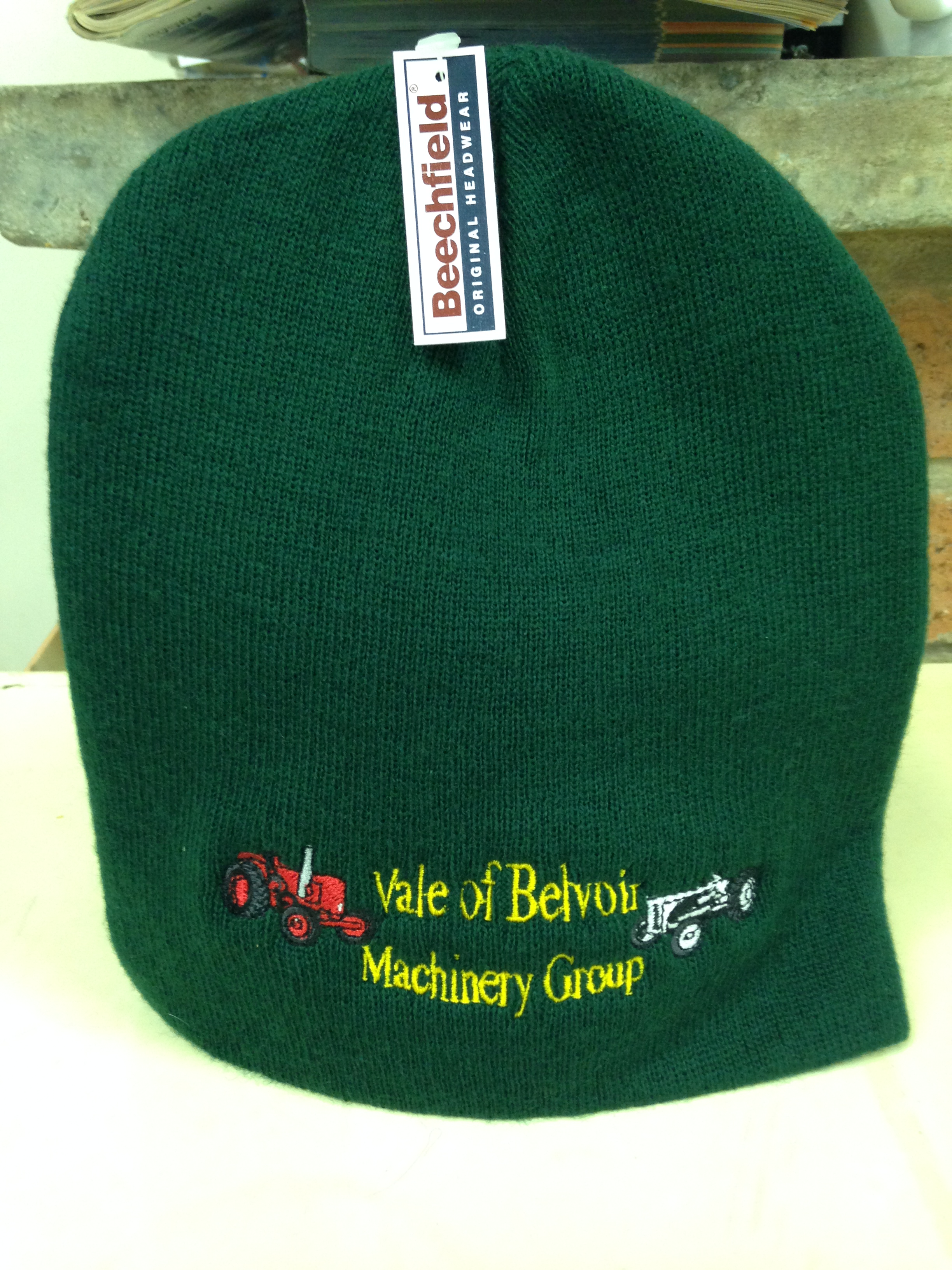 Club Branded Beanie Hats - Avaialble in a variety of colours, One size fits all, Priced at £5.50