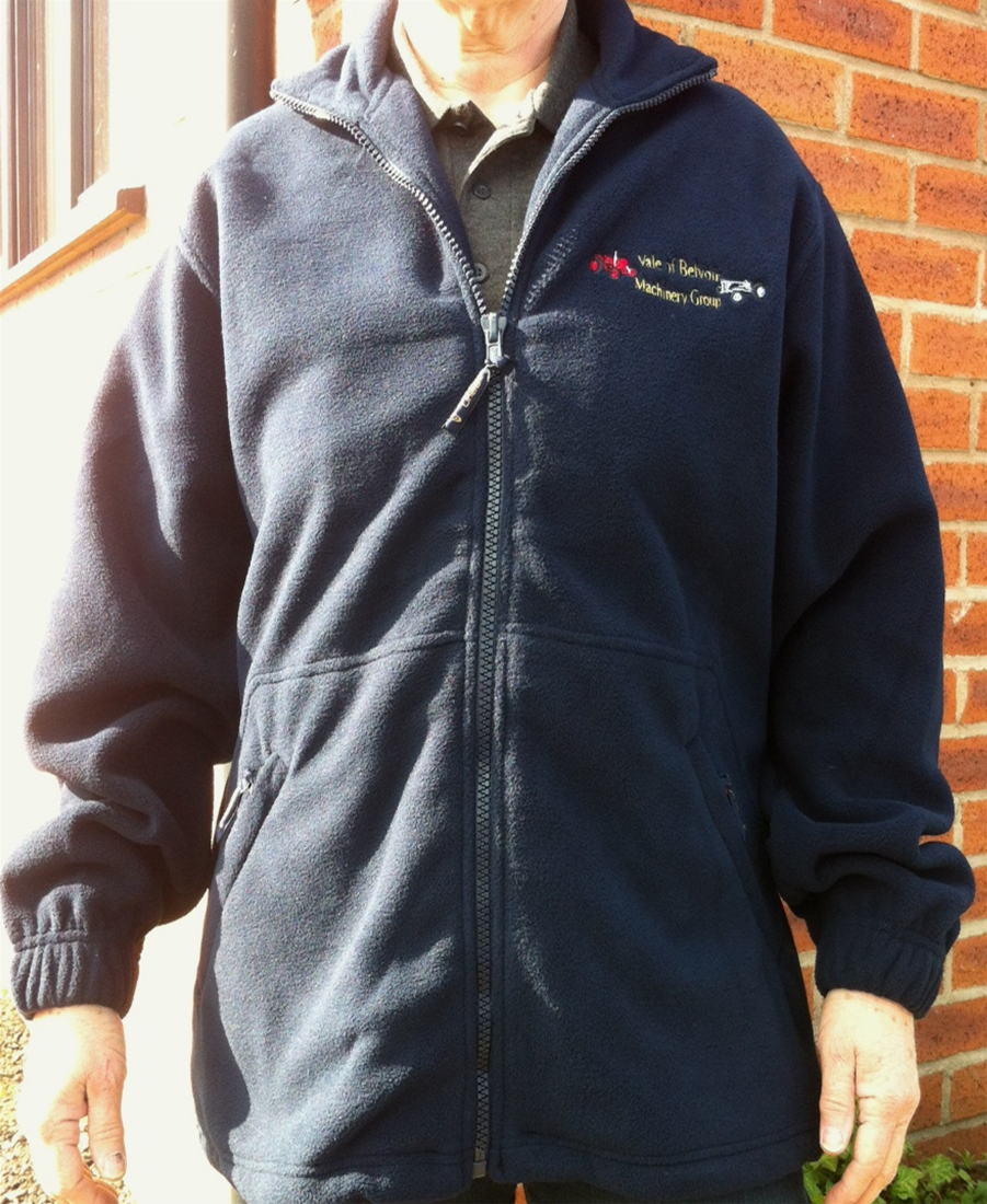 Club Branded Fleece - Available in a variety of colours and sizes priced at £17
