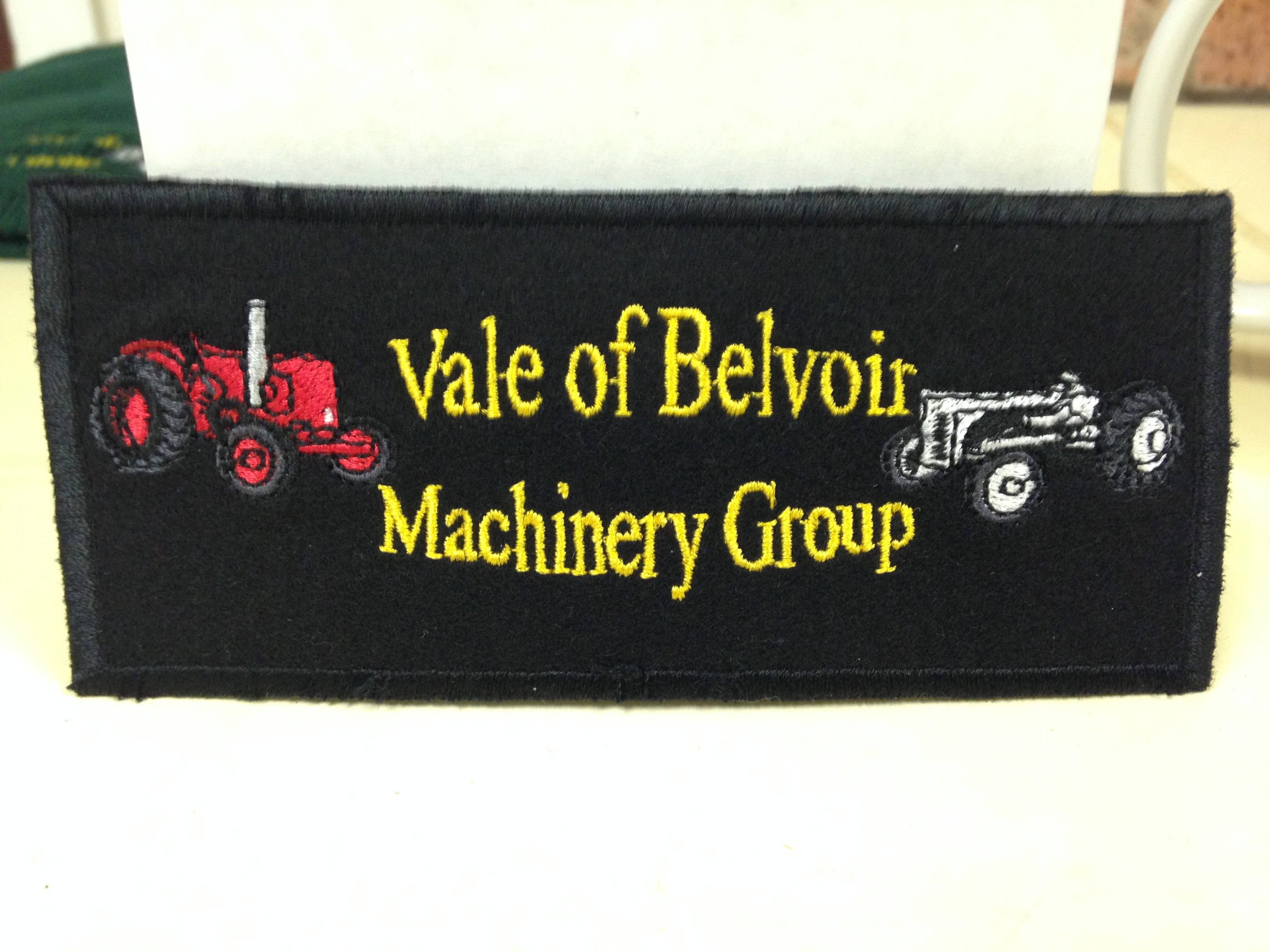 Club Branded Sew on Patch - Priced at £3
